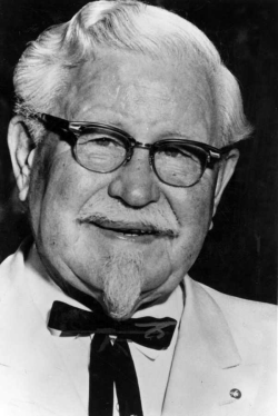 Le colonel Harland Sanders - KFC