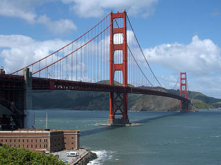 Le Golden Gate Bridge à San Francisco